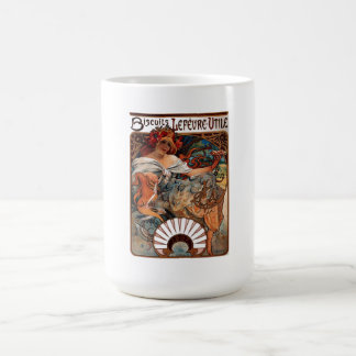 """Lithograph """"Biscuits Lefèvre-Utile"""" Coffee Mug"""