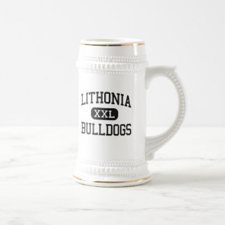 Lithonia - Bulldogs - High - Lithonia Georgia 18 Oz Beer Stein