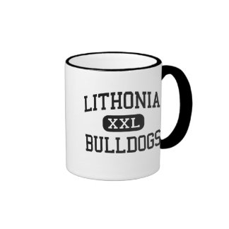 Lithonia - Bulldogs - High - Lithonia Georgia Ringer Coffee Mug