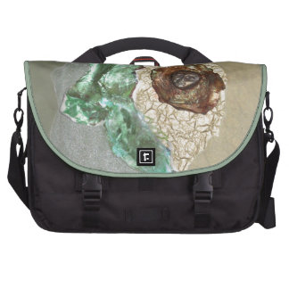 Lithosphere - collage laptop bags