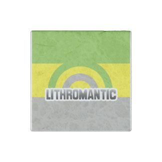 LITHROMANTIC RAINBOW STONE MAGNET