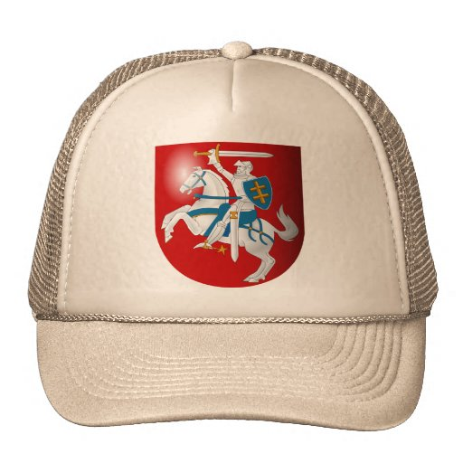 Lithuania 3d, Lithuania Trucker Hat