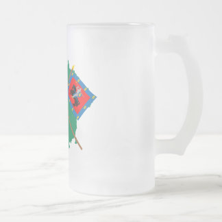 Lithuania and Vilnius County Flags, Arms, Map Mugs
