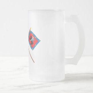 Lithuania and Vilnius County Flags with Arms Mugs
