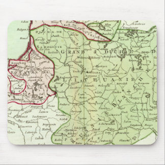 Lithuania, Belarus Mouse Pad