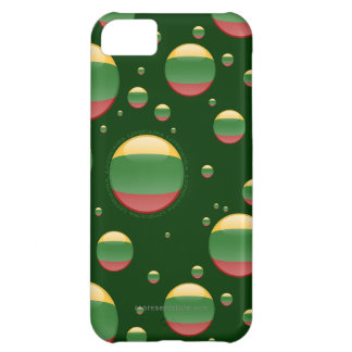 Lithuania Bubble Flag Case For iPhone 5C