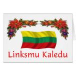 Lithuania Christmas Greeting Card