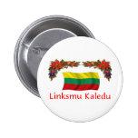 Lithuania Christmas Pins