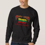 Lithuania Christmas Pullover Sweatshirt