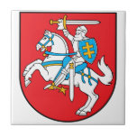 Lithuania Coat Of Arms Ceramic Tile