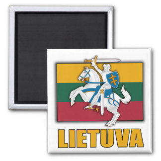 Lithuania Coat of Arms Fridge Magnet