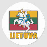 Lithuania Coat of Arms Stickers