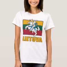 Lithuania Coat Of Arms T-shirt at Zazzle