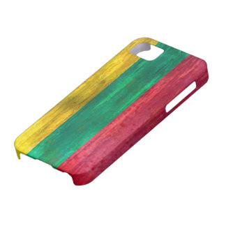Lithuania distressed Lithuanian flag iPhone SE/5/5s Case