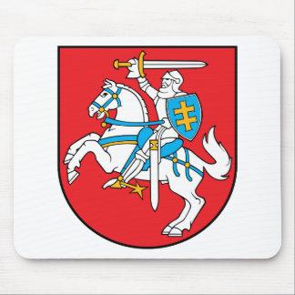 lithuania emblem mouse pad