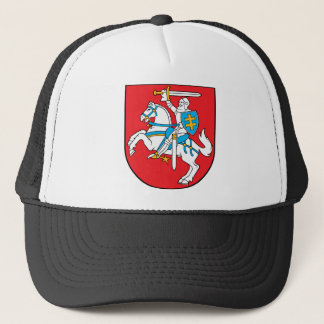 lithuania emblem trucker hat