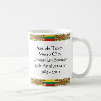 Lithuania eText ~ Flagcolor Map Mug
