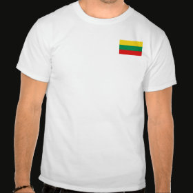 Selected Lithuania T-Shirt Front