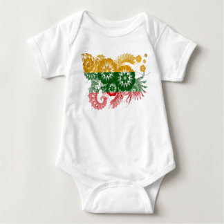 Lithuania Flag Baby Bodysuit
