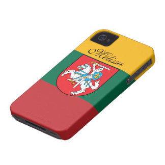 Lithuania Flag Case-Mate iPhone 4 Case