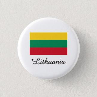 Lithuania Flag Design Pinback Button
