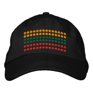 Lithuania Flag Embroidered Baseball Cap