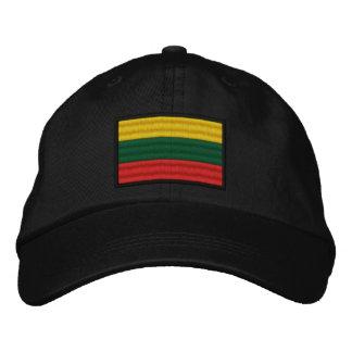 Lithuania Flag Embroidered Baseball Hat
