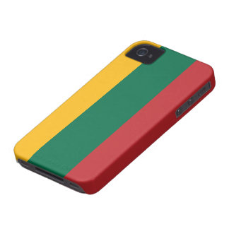 Lithuania Flag iPhone 4 Cases