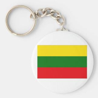 Lithuania Flag Keychain