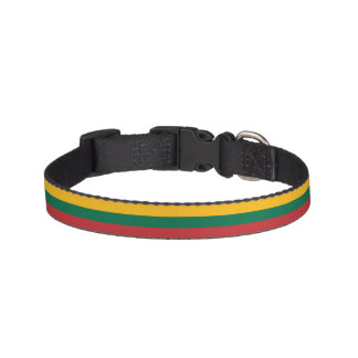 Lithuania Flag Pet Collar
