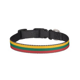 Lithuania Flag Pet Collar