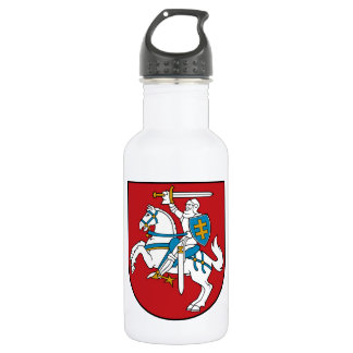 Lithuania Flag 18oz Water Bottle