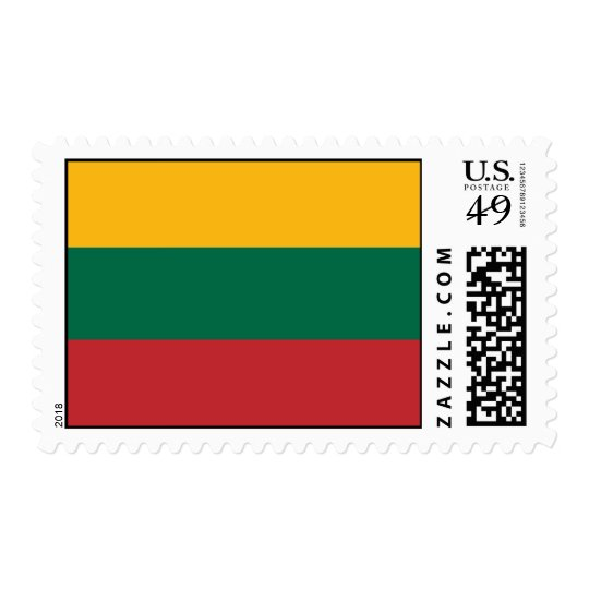 Lithuania Flag Postage
