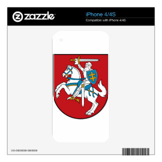 Lithuania Flag iPhone 4 Decals