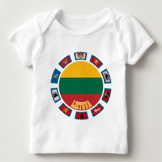 Lithuania Flags Baby T-Shirt
