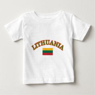 Lithuania football design baby T-Shirt