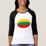 Lithuania Gnarly Flag T-Shirt