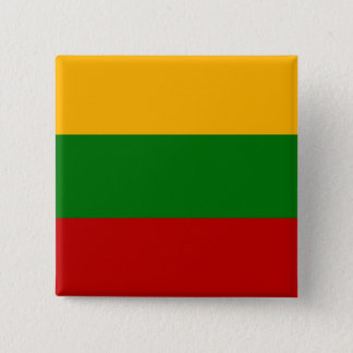 Lithuania High quality Flag Pinback Button