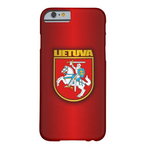 Lithuania (Lietuva) Coat of Arms iPhone 6 Case