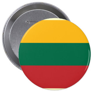 Lithuania, Lithuania Pinback Buttons