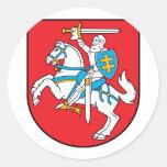 Lithuania, Lithuania Classic Round Sticker