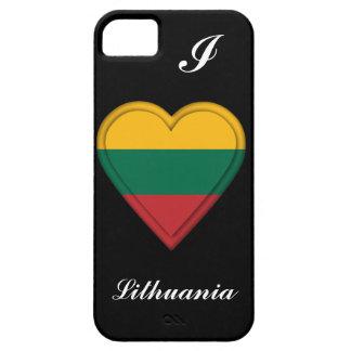 Lithuania Lithuanian Flag iPhone SE/5/5s Case