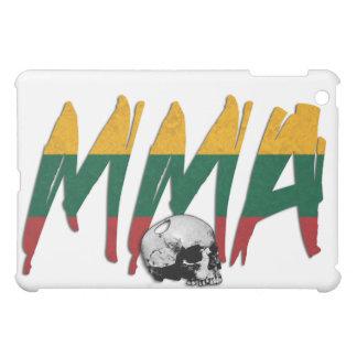 Lithuania MMA Skull White iPad Case