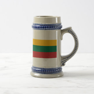 lithuania 18 oz beer stein