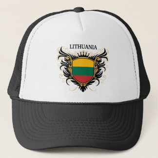 Lithuania [personalize] trucker hat