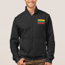 Lithuania Plain Flag Jacket