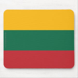 Lithuania Plain Flag Mouse Pad