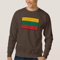 Lithuania Plain Flag Sweatshirt
