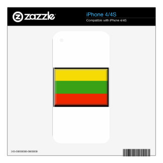 Lithuania Skins For iPhone 4S