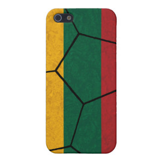 Lithuania Soccer Ball iPhone 4 Case